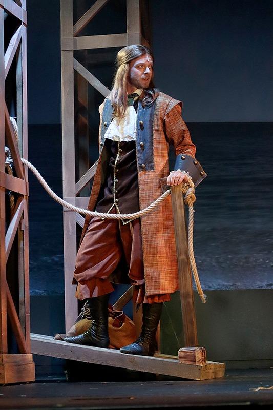 Robinson Crusoe, muzikál, Lukáš Randák