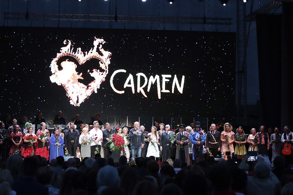 Derniéra CARMEN, Hudební divadlo Karlín