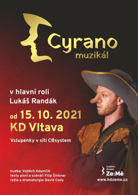 Plakát - Cyrano - Lukáš Randák
