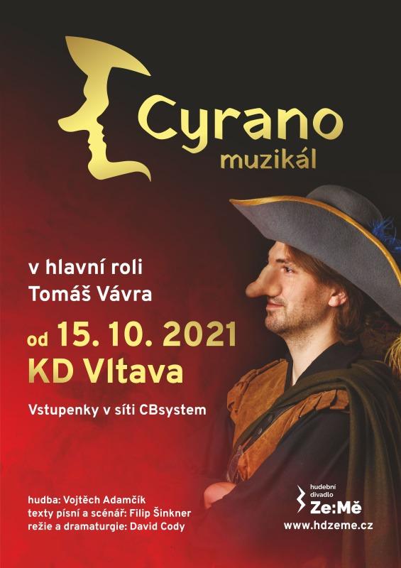 Plakát - Cyrano - Tomáš Vávra