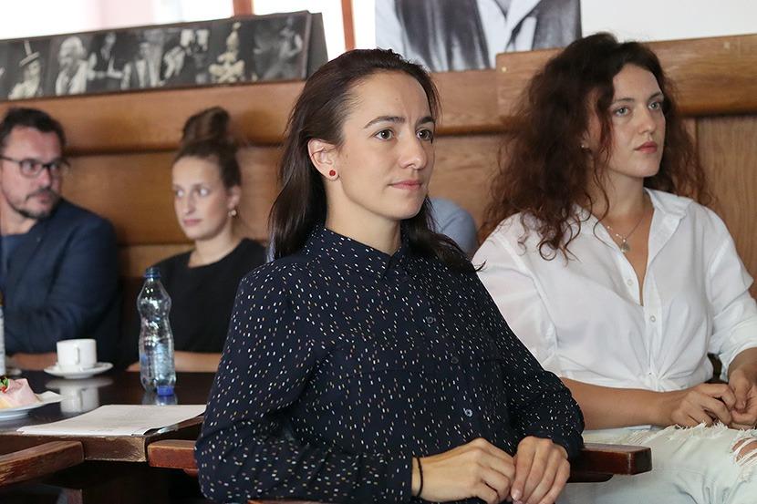 Svetlana Janotová, Pretty Woman, Městské divadlo Brno, Tisková konference