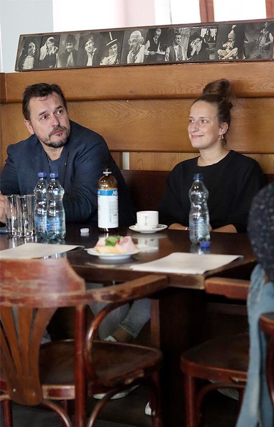 Petr Štěpán a Kristýna Daňhelová, Pretty Woman, Městské divadlo Brno, Tisková konference