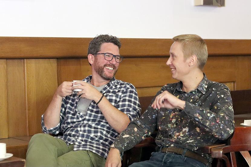 Robert Jícha a Michal Matěj, Pretty Woman, Městské divadlo Brno, Tisková konference