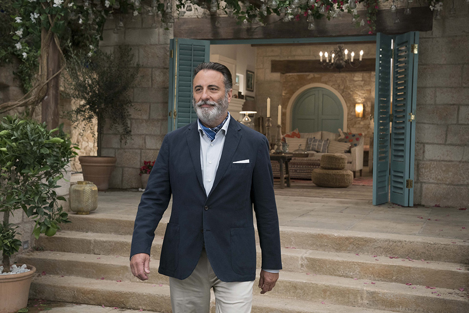 Andy Garcia (Señor Cienfuegos) Mamma Mia! Here We Go Again