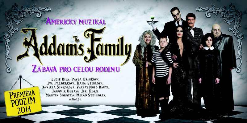 """""""The Addams Family"""" zná své české tváře"""