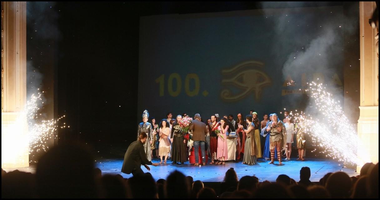 """Muzikál """"Aida"""" oslavil v Karlíně již rovnou stovku!"""