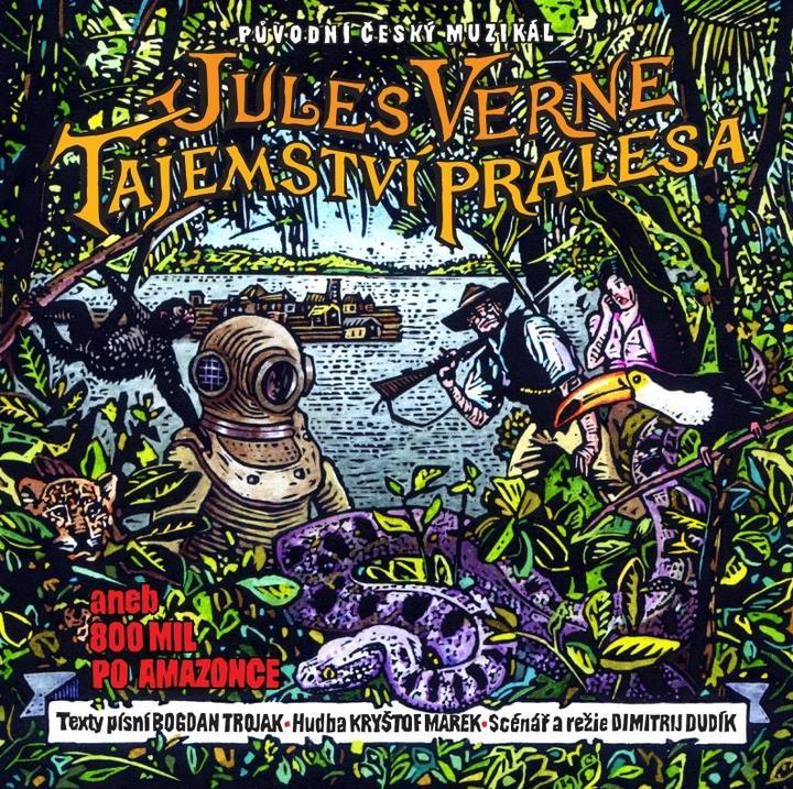 Podpořte vznik rozhlasového muzikálu Tajemství pralesa aneb Osm set mil po Amazonce na Hithitu