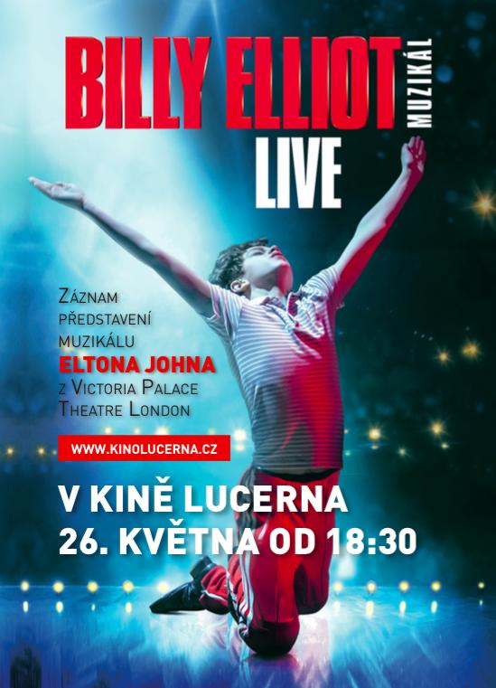 Záznam muzikálu Billy Elliot z West Endu v kině Lucerna