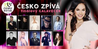 Finálový galavečer ČESKO ZPÍVÁ 2018 se blíží