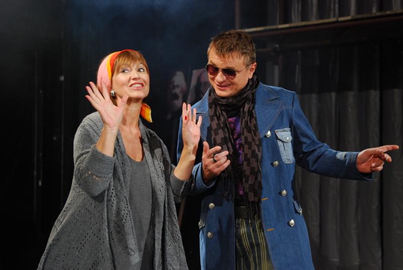 """Nový muzikál """"Ať žije rokenrol!"""" se fotil pro divadelní program"""