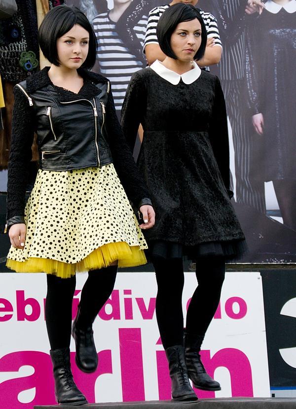 Pražská The Addams Family měla svou módní přehlídku