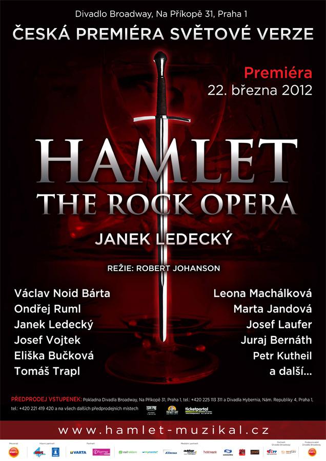 """Tým """"Hamlet: The Rock Opera"""" zahájil zkoušky"""