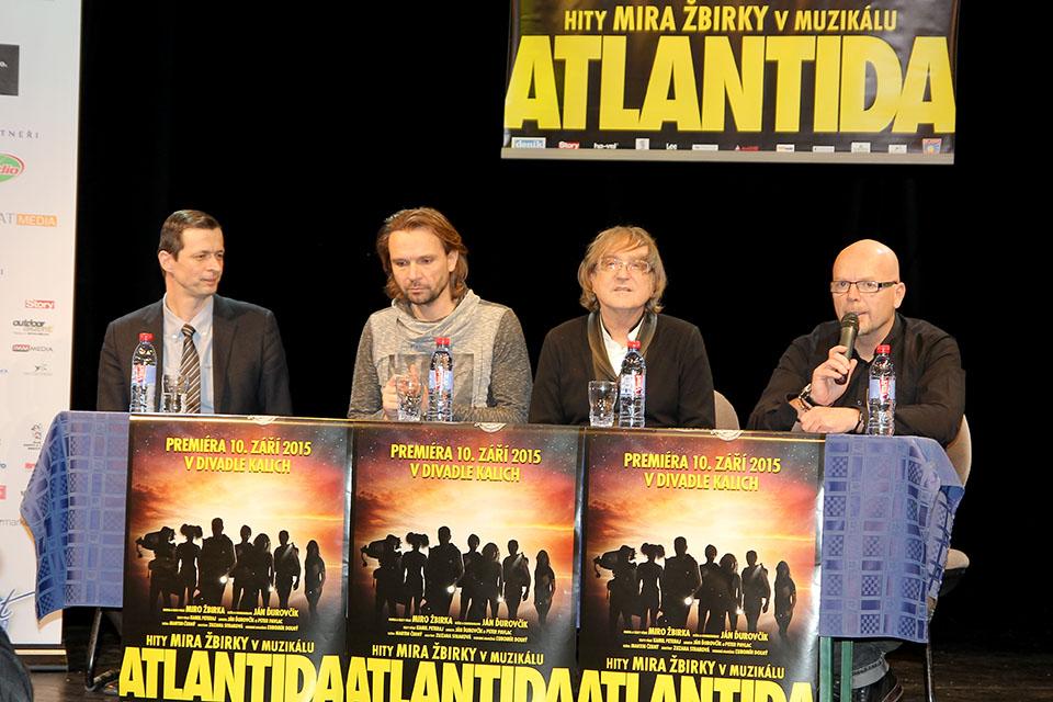Muzikál Atlantida v Divadle Kalich odkryl první tváře v obsazení