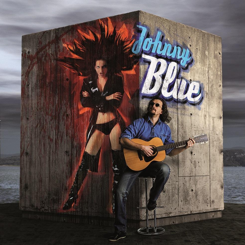 Slepý zpěvák Johnny Blue se chystá dobýt prkna Hudební scény MdB