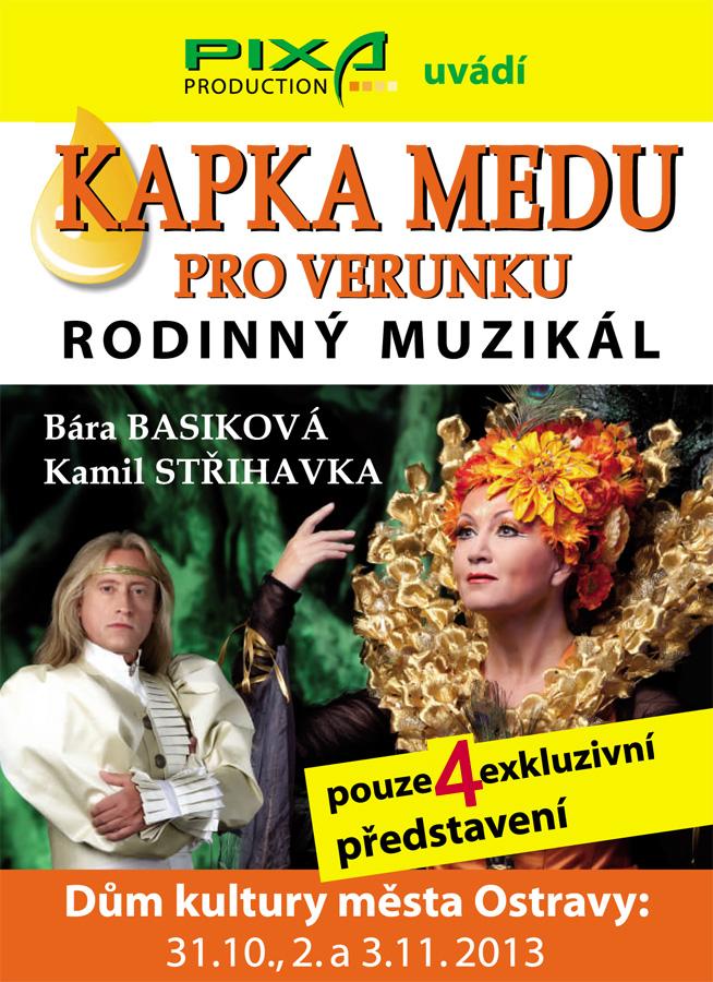 """""""Kapka medu pro Verunku"""" se hledá už i v Ostravě (+ nové video)"""