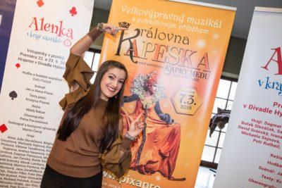 Muzikál KRÁLOVNA KAPESKA se představil a zveřejnil obsazení