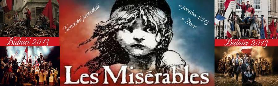 Konkurz na koncertní provedení muzikálu Les Misérables – Bídníci