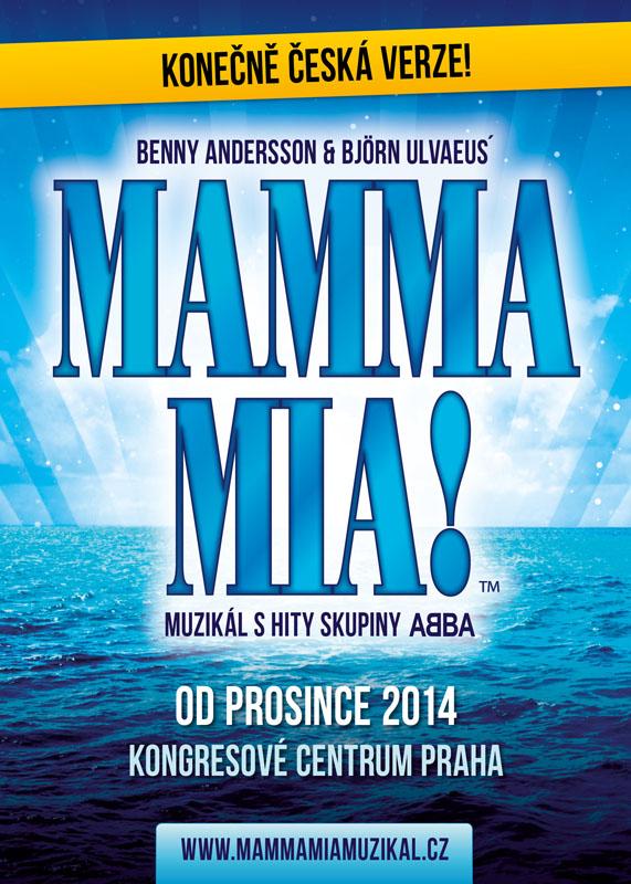 Konkurzy na hlavní i vedlejší role v muzikálu Mamma Mia!