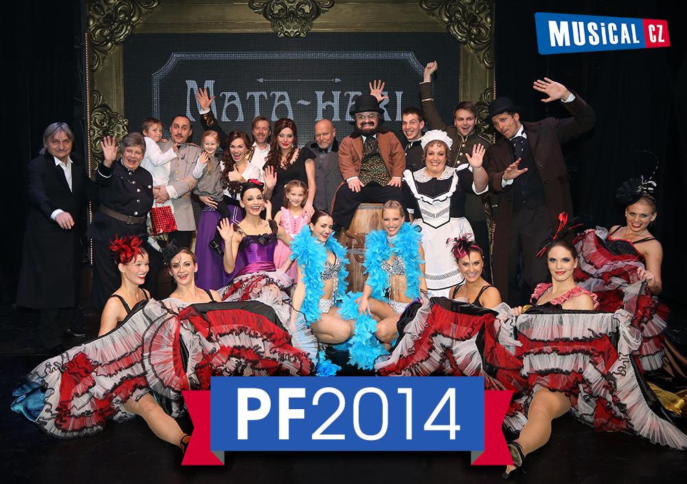 Muzikálové PF 2014