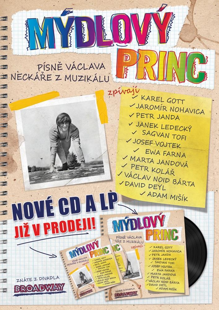 Přijďte pokřtít CD Mýdlového prince a vyhrajte vstupenky na představení (+ autogramiáda)
