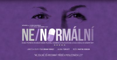 Česká premiéra muzikálu NE/NORMÁLNÍ (Next to Normal) v Divadle Na Prádle