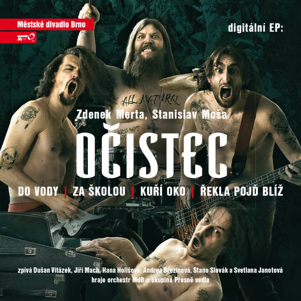 "MdB vydává digitální EP desku muzikálu ""Očistec"""