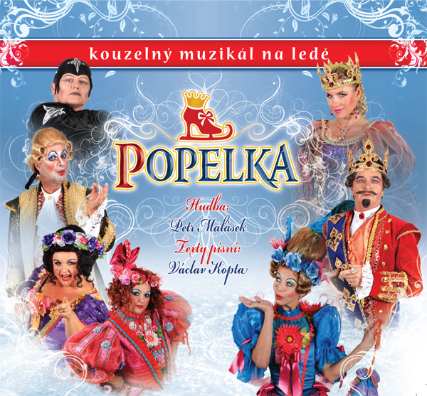 """CD """"Popelka"""" je pokřtěno, kmotry se stali Lucie Bílá a Karel Gott"""