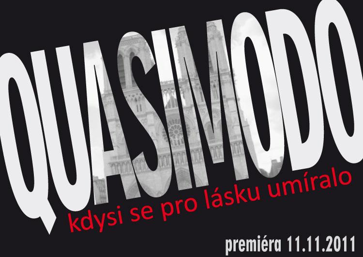 """Nový muzikál """"Quasimodo"""" v Divadle Hybernia – první informace a taneční konkurz"""