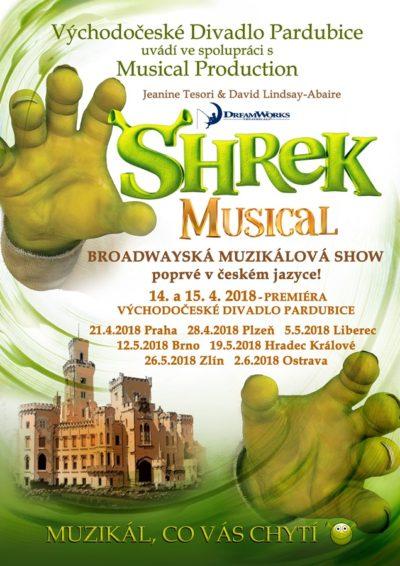 Konkurz na vedlejší role a company do muzikálu SHREK
