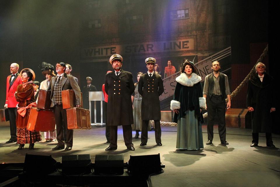 Muzikál TITANIC: Nejslavnější námořní katastrofa na jevišti Městského divadla Brno