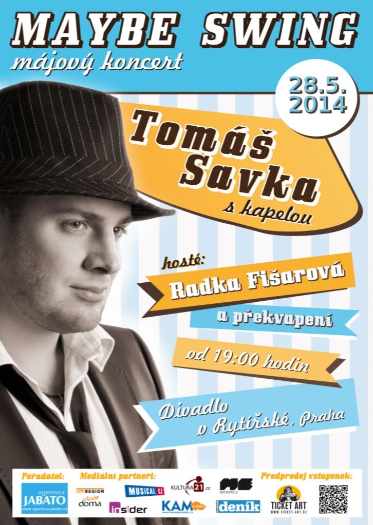 Prožijte májový swingový večer s Tomášem Savkou