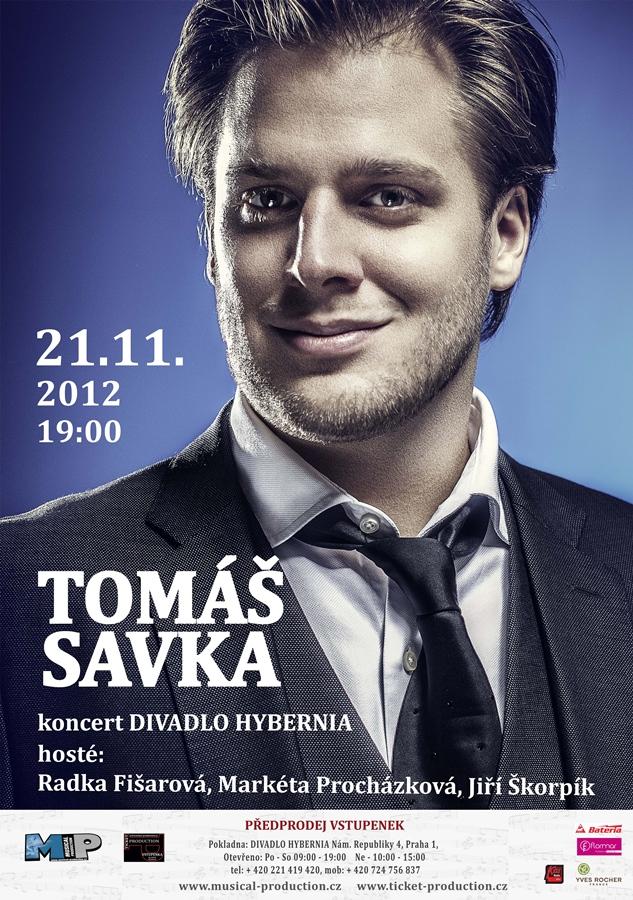 Tomáš Savka s hosty rozezní koncertem Divadlo Hybernia