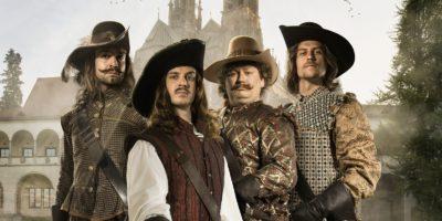 Hudební komedie Tři mušketýři zahájí letní program na Biskupském dvoře