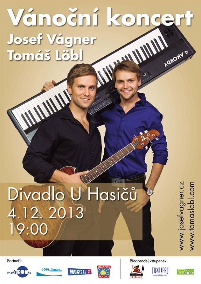 Vánoční koncert Josefa Vágnera a Tomáše Löbla je již za dveřmi (+ soutěž)