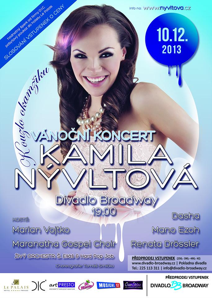 Kamila Nývltová vydala nové CD plné překrásných vánočních melodií (+ soutěž)