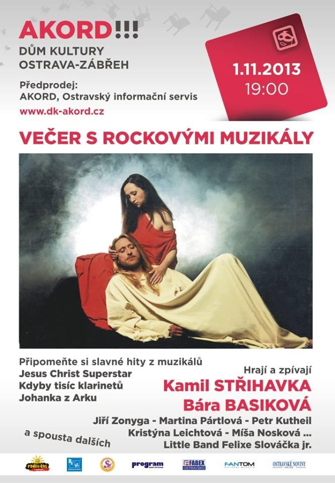 Večer nejen s rockovými muzikály v Ostravě