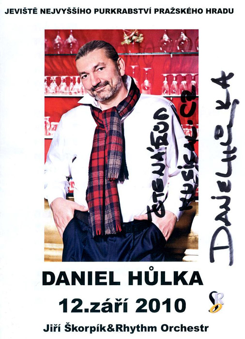 Daniel Hůlka rozezněl svým barytonem Pražský hrad