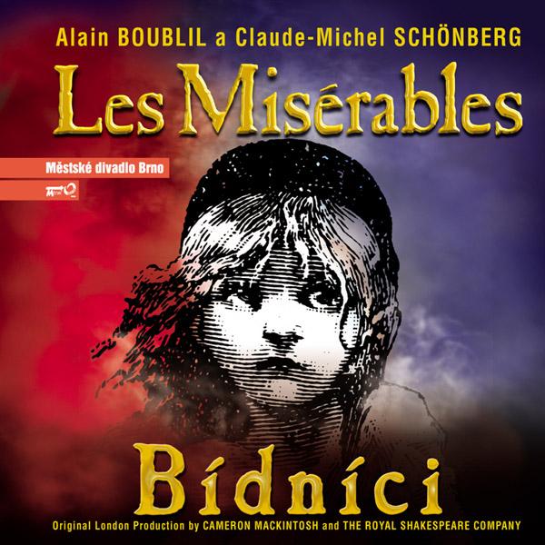 """Recenze CD muzikálu """"Les Misérables – Bídníci"""" z Městského divadla Brno"""