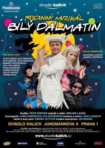 """26.9.2010 zrušeno představení dětského muzikálu """"Bílý dalmatin"""""""