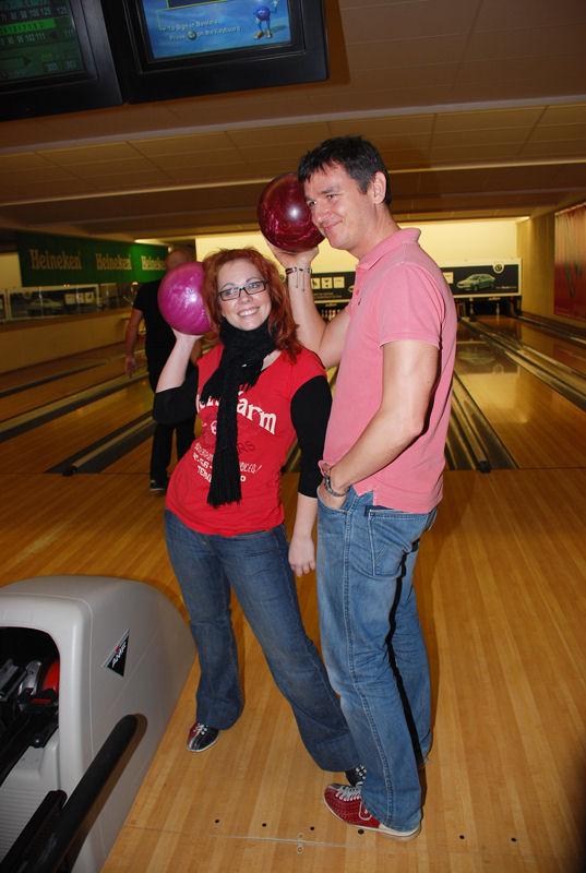 Bowlingový turnaj Hudebního divadla Karlín
