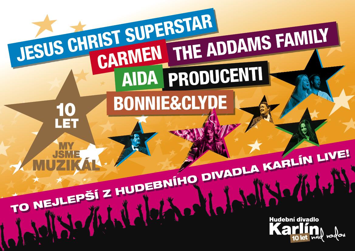 Muzikály Hudebního divadlo Karlín vyráží na letní festivaly (+ kompletní program)