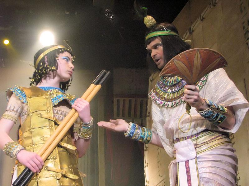 """Reportáž z fanouškovského nastudování muzikálu """"Kleopatra"""" (+video)"""