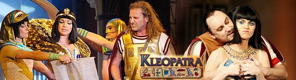 """""""KLEOPATRA"""" – obsazení na únor 2012"""